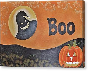 Oogie Boogie Boo Canvas Print by Cindy Micklos