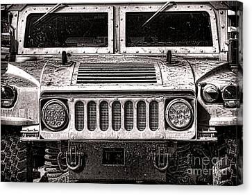 Oomphy Humvee Canvas Print