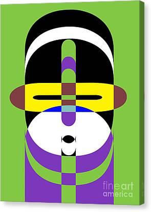 Pop Art People 2 Canvas Print by Edward Fielding