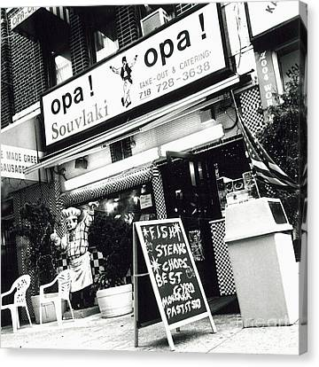 Opa Opa Canvas Print by James Aiken