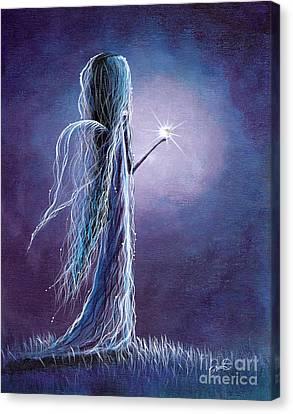 Opal Fairy By Shawna Erback Canvas Print by Shawna Erback