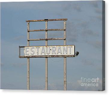 Canvas Print featuring the photograph Open 24 Hours by Michael Krek