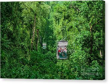 Open Air Gondola  Canvas Print by Gary Keesler