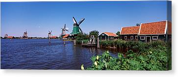 Open Air Museum At The Waterfront Canvas Print