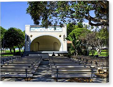 Open Air Theater Pt Fermin Canvas Print by Joseph Hollingsworth