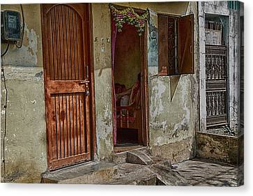 Open Door Canvas Print by John Hoey
