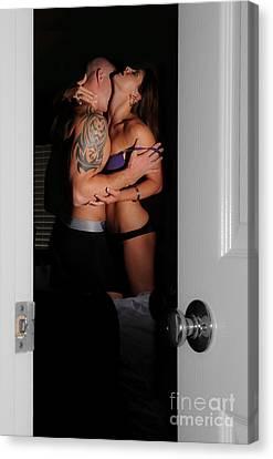 Open Door Canvas Print by Jt PhotoDesign