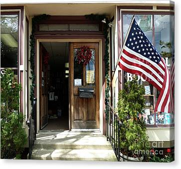 Open Door Of Bordentown Canvas Print by Sally Simon