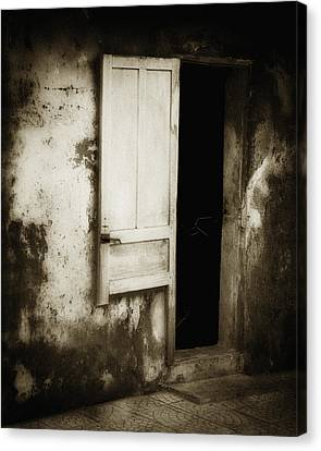 Open Door Canvas Print by Skip Nall