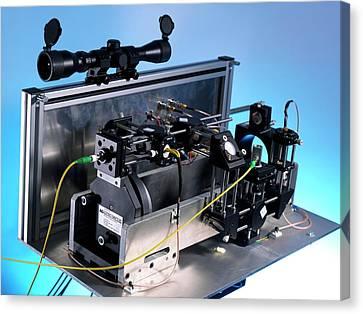 Open Path Spectrometer Canvas Print