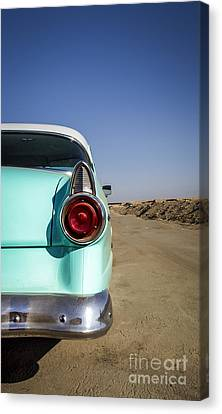 Open Road- Metal And Speed Canvas Print by Holly Martin