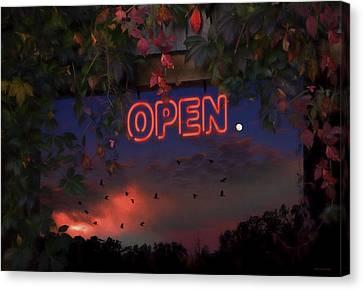 Open Canvas Print by Ron Jones