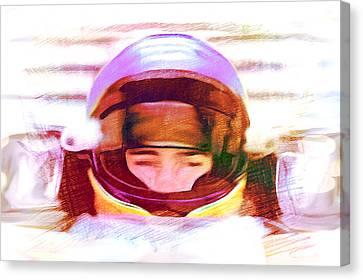 Open Wheel Canvas Print by Dennis Buckman