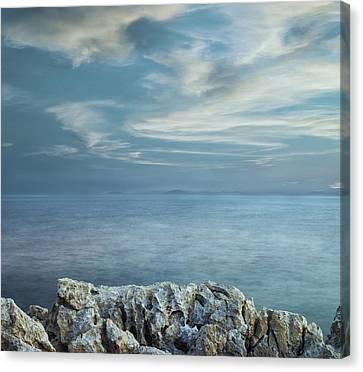 Opened Distance Canvas Print by Akos Kozari
