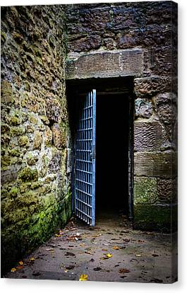 Opened Prison Door Canvas Print by Dutourdumonde Photography
