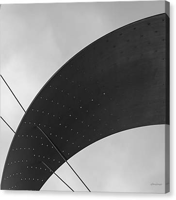 Opening Arch - Abstract Canvas Print by Steven Milner