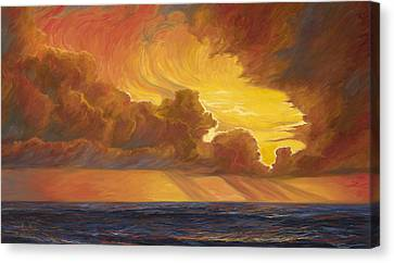 Opening Sky Canvas Print by Lucie Bilodeau
