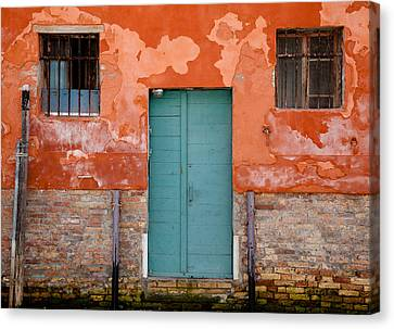Canvas Print featuring the photograph Openings by Uri Baruch