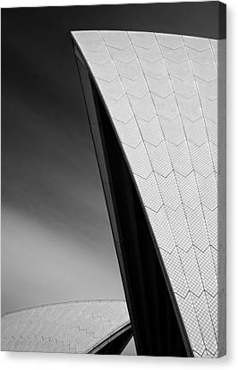 Opera House Canvas Print by Dave Bowman