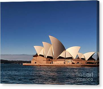 Canvas Print featuring the photograph Opera House by John Swartz