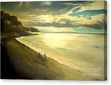 Opera Plage - In Nice Canvas Print