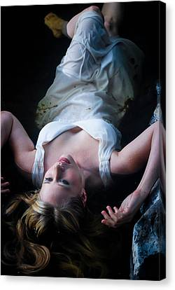 Canvas Print - Ophelia by Kimberly Deverell