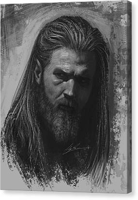 Opie Canvas Print by Alex Ruiz