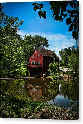 Opie's Grist Mill Canvas Print by Colleen Kammerer