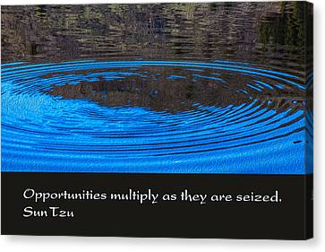 Opportunites Multiplied Canvas Print by Omaste Witkowski