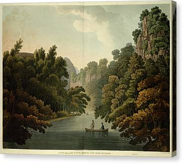 Opposite New Bath Canvas Print by British Library
