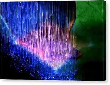 Optic Lights  6 Canvas Print