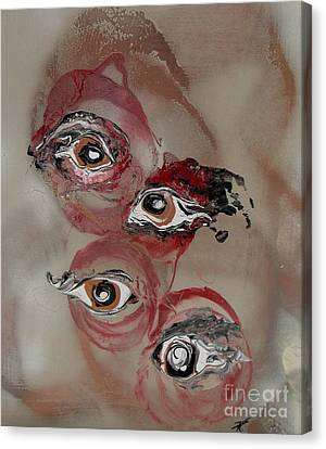 Optical Madness Canvas Print