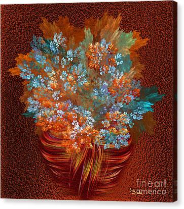 Optimistic Art - A Gift Of Joy By Rgiada Canvas Print by Giada Rossi
