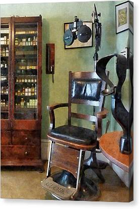 Optometrist - Eye Doctor's Office Canvas Print by Susan Savad