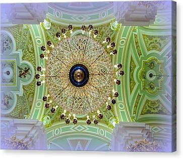 Opulence Overhead Canvas Print by David Kovac