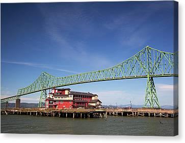Or, Astoria, Astoria-melger Bridge Canvas Print