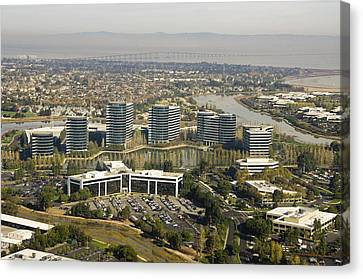 Oracle Corporation Worldwide Headquarters Canvas Print by Scott Lenhart