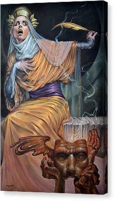 Oracle Canvas Print by Matt Hughes