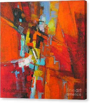 Orange 1 Canvas Print by Wendy Westlake
