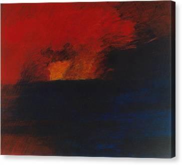 Orange 1985 Canvas Print