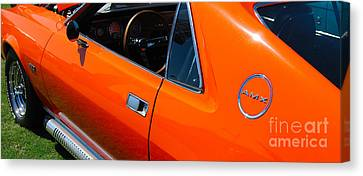 Orange Amx Canvas Print