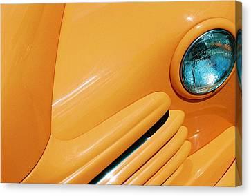 Orange Car Canvas Print by Daniel Thompson