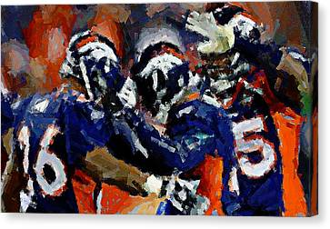 Orange Crush Canvas Print by Carrie OBrien Sibley