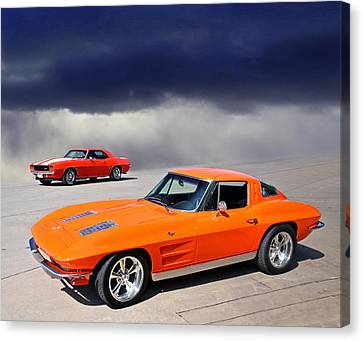 Orange Crush Canvas Print by Christopher McKenzie