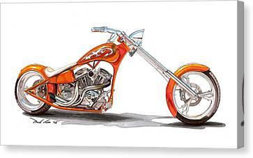 Orange N Tangy Canvas Print by Paul Kim