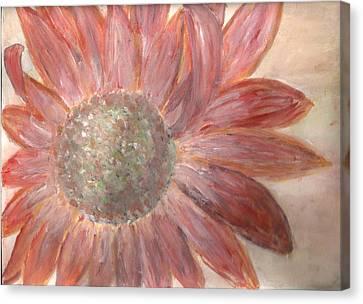 Orange Petals Canvas Print by Corina  Lupascu