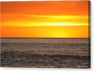 Orange Sherbet Canvas Print