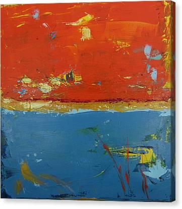 Orange Sky 2 Canvas Print