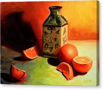 Orange Temptation, Peru Impression Canvas Print