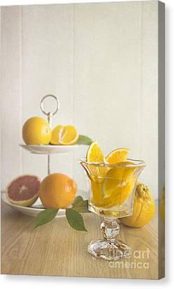 Orangeade 2 Canvas Print by Elena Nosyreva